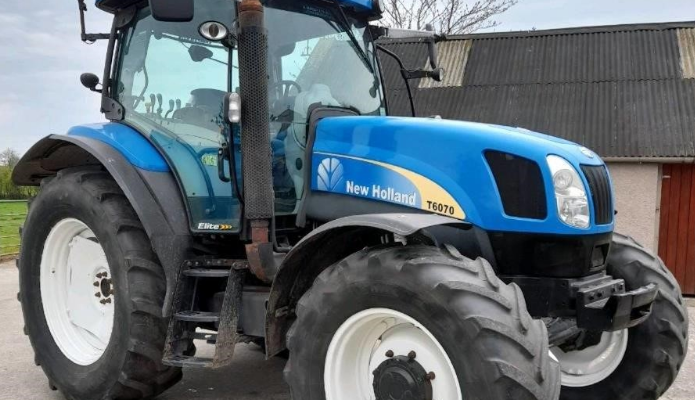 New Holland T6070 Elite for sale