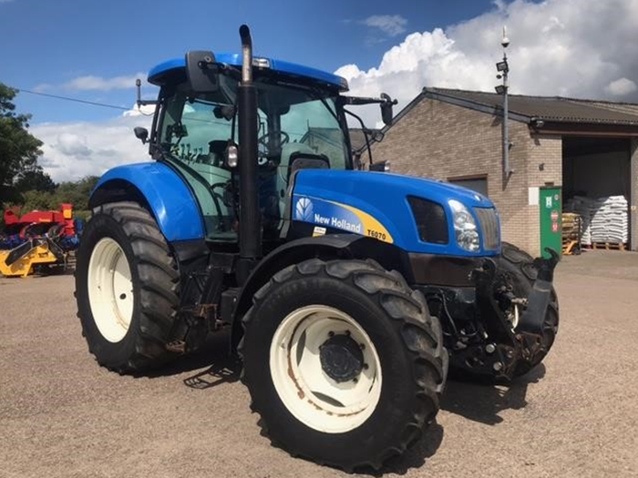 New Holland T6070 for sale UK 1