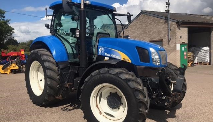 New Holland T6070 for sale UK