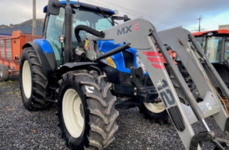 Used New Holland T6070 for sale UK
