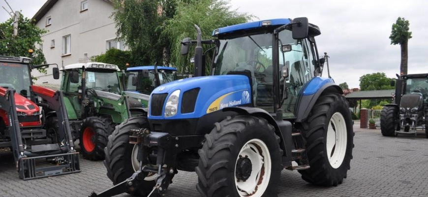 2007 New Holland T6070 Plus for sale Polland